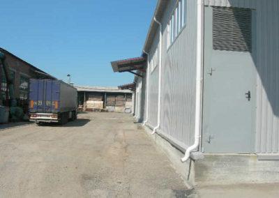 разгрузка товара на складе